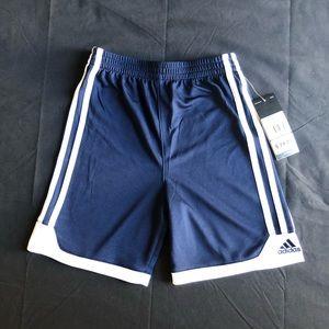 NWT Boys Adidas navy blue shorts size 5